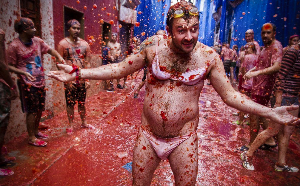 THE WORLD`S CRAZIEST FIESTAS