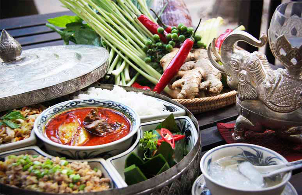 Traditional Khmer dishes