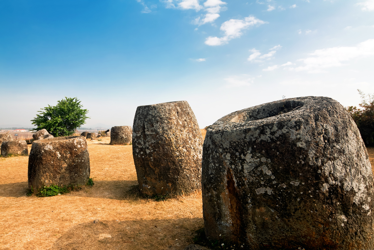 VISIT THE MYSTERIOUS PLAIN OF JARS