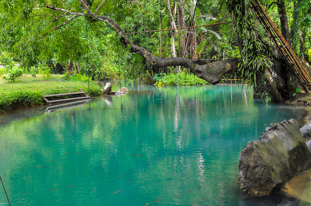 The Blue Lagoon, Vang Vieng
