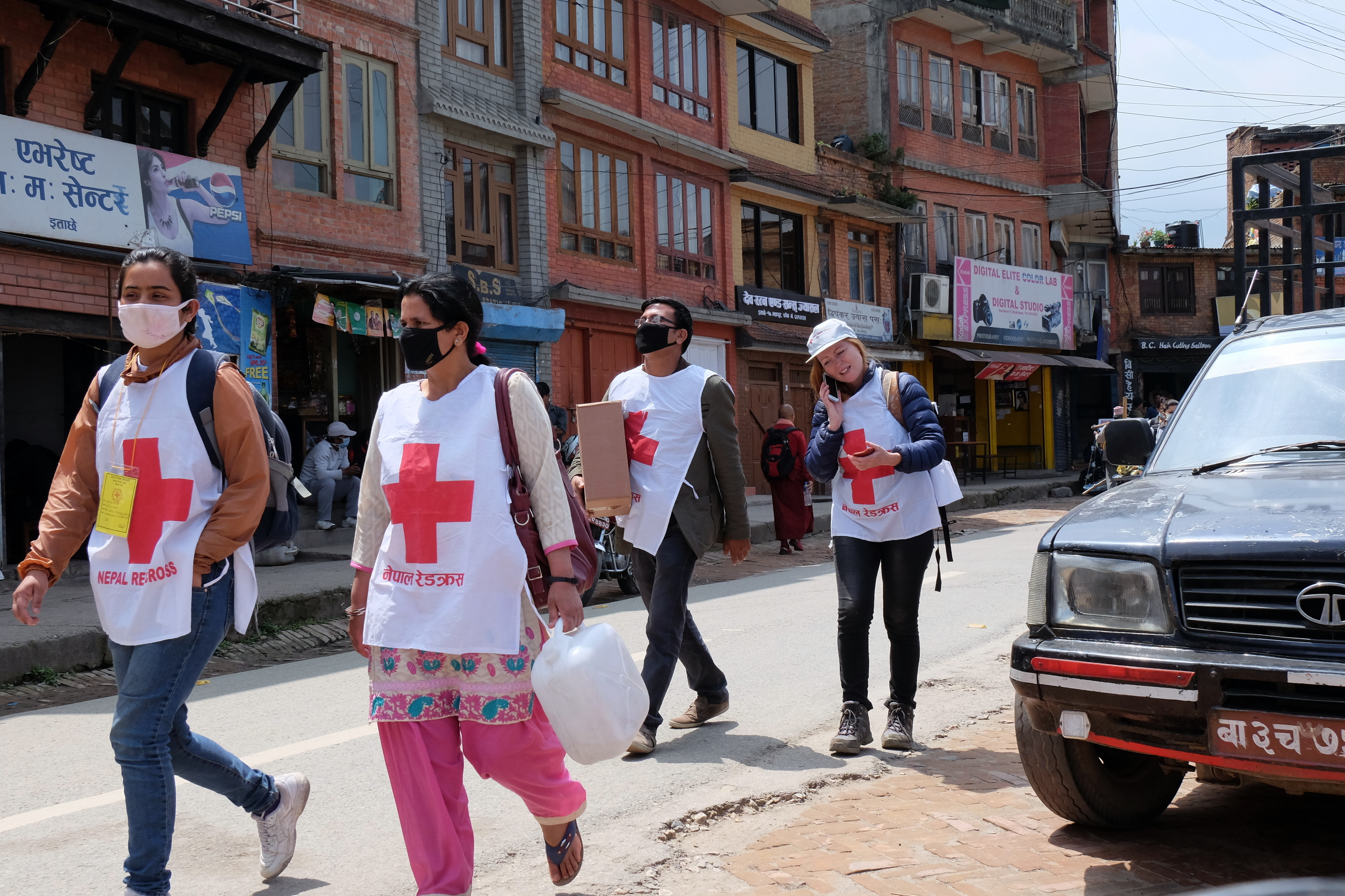 Volunteeringin Nepal after the Earthquake in 2015