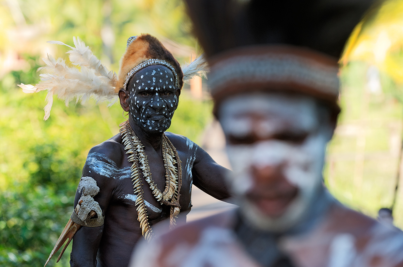 New Guinean warriors, West Papua