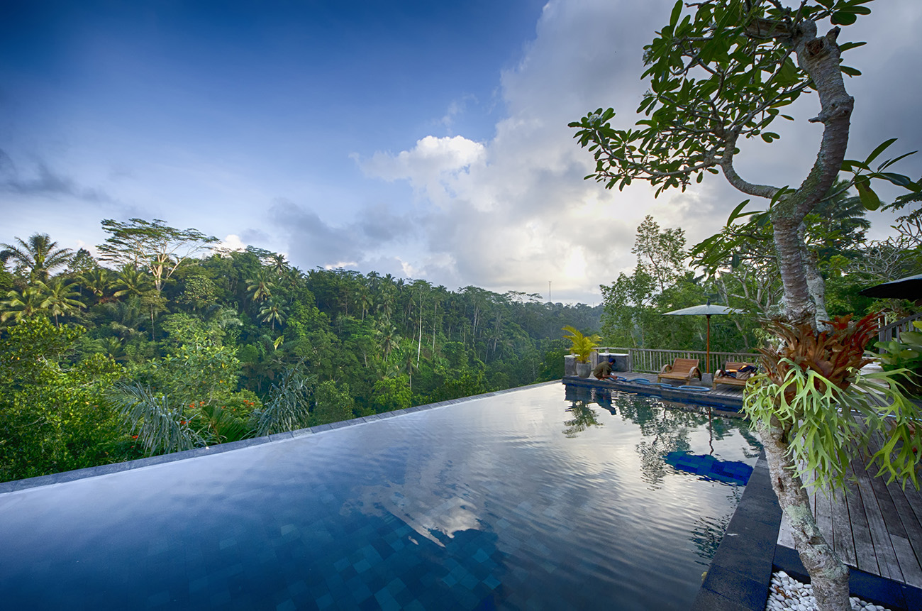 Private villa swimming pool, Ubud