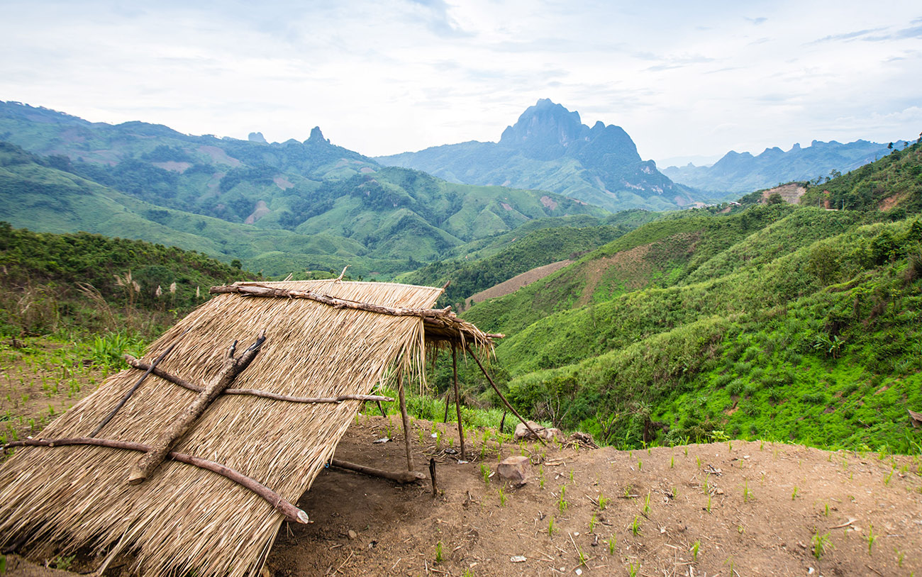 The untouched nature of Phou Den Din