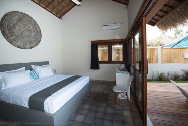 Villa Saia, King size bedroom, open-air suite